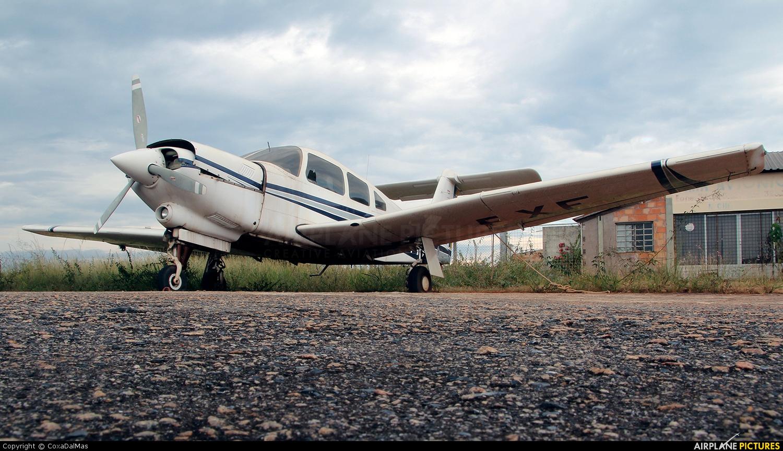 Private PP-FXF aircraft at Pará de Minas