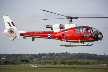 ZB627 - Royal Air Force Aerospatiale SA-341 / 342 Gazelle (all models)