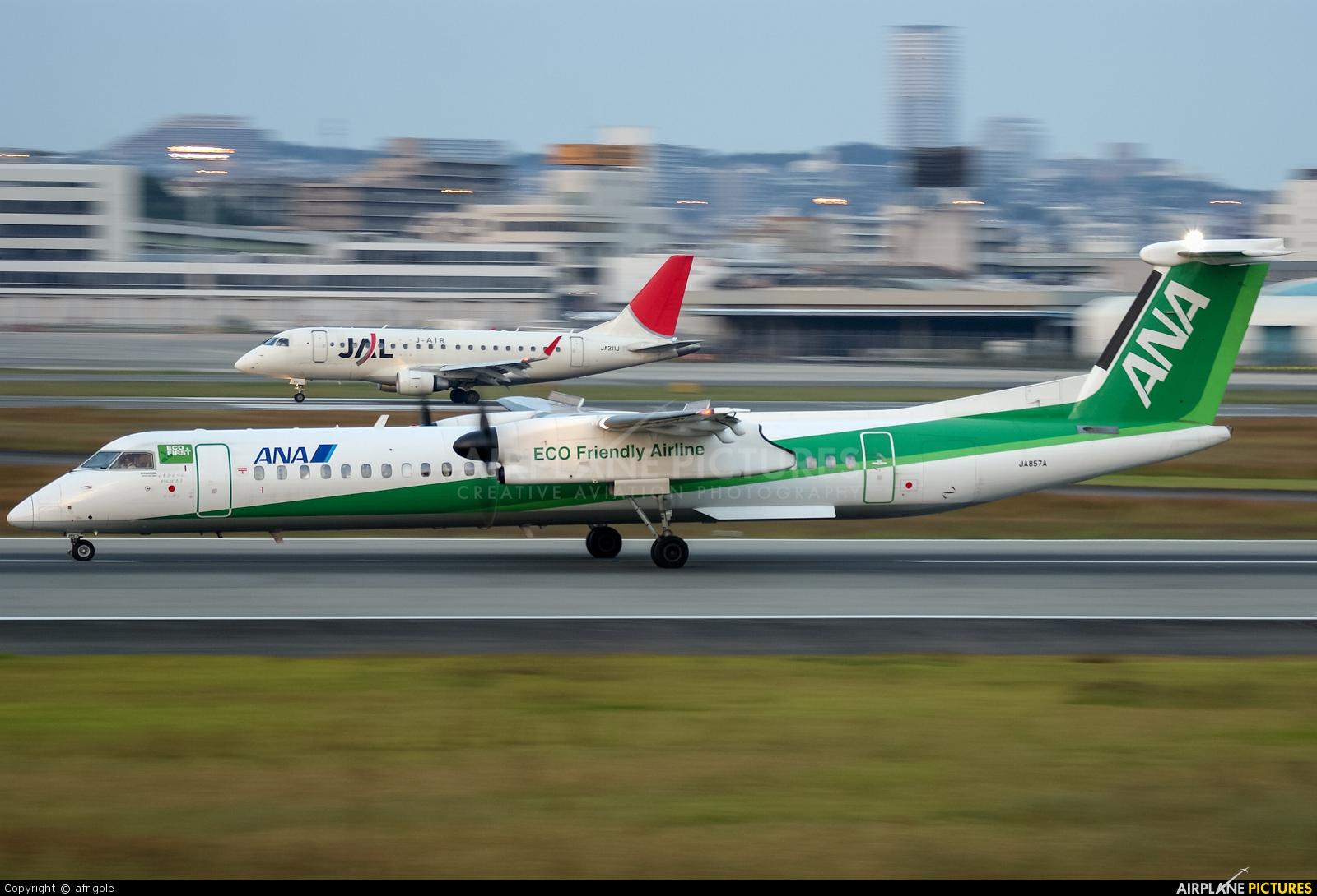 ANA - All Nippon Airways JA857A aircraft at Osaka - Itami Intl
