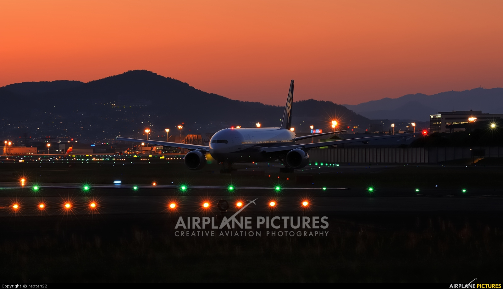 ANA - All Nippon Airways JA745A aircraft at Osaka - Itami Intl