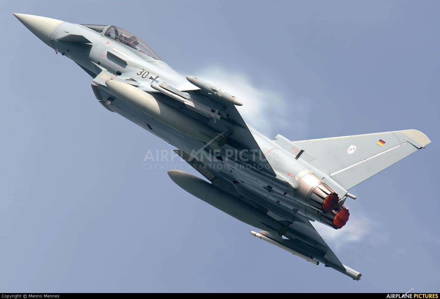 Germany - Air Force 30+98 aircraft at Leeuwarden