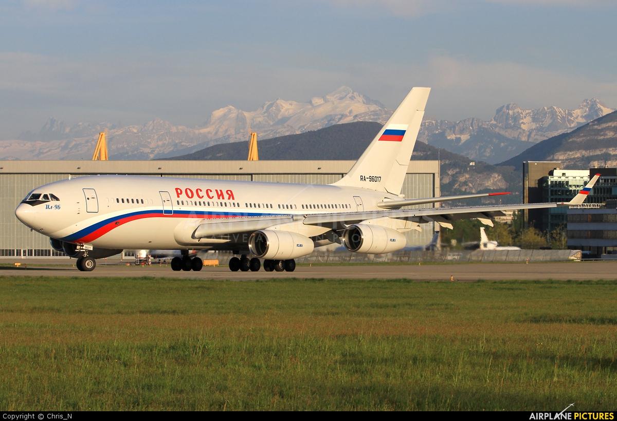Rossiya RA-96017 aircraft at Geneva Intl