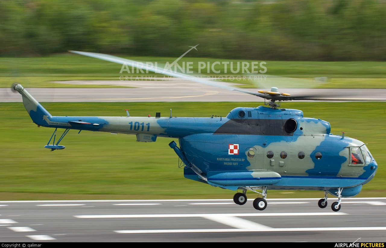 Poland - Navy 1011 aircraft at Darłowo