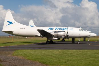 ZK-FTA - Air Freight NZ Convair CV-580