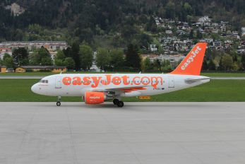 G-EZDJ - easyJet Airbus A319