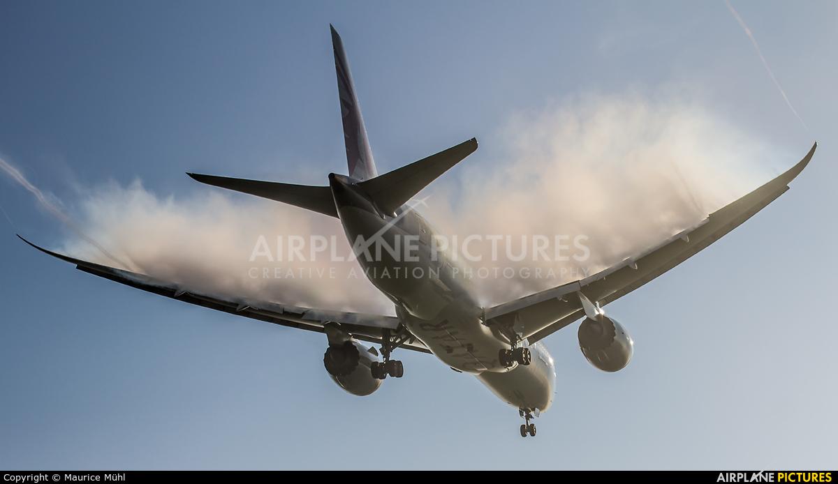 Qatar Airways A7-BCA aircraft at Munich