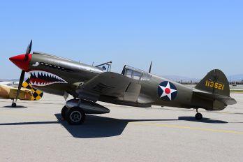 NX940AK - Private Curtiss P-40E Warhawk