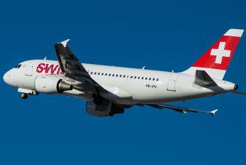 HB-IPV - Swiss Airbus A319