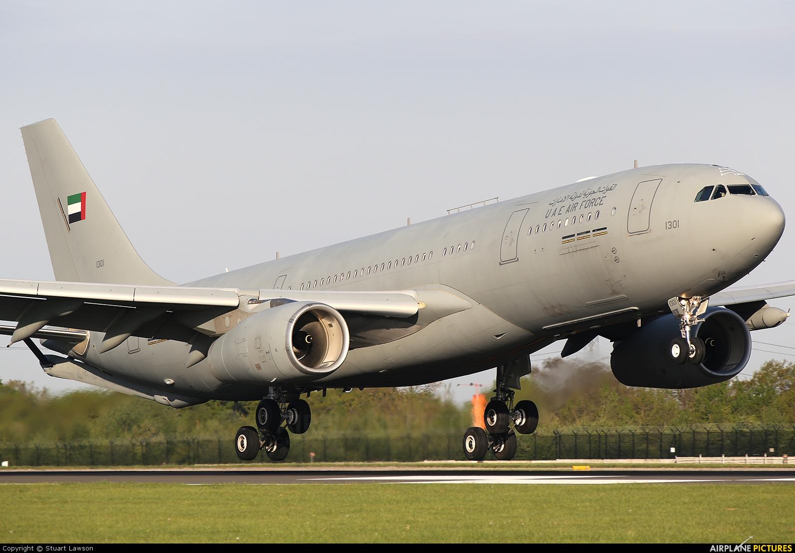 United Arab Emirates - Air Force 1301 aircraft at Manchester