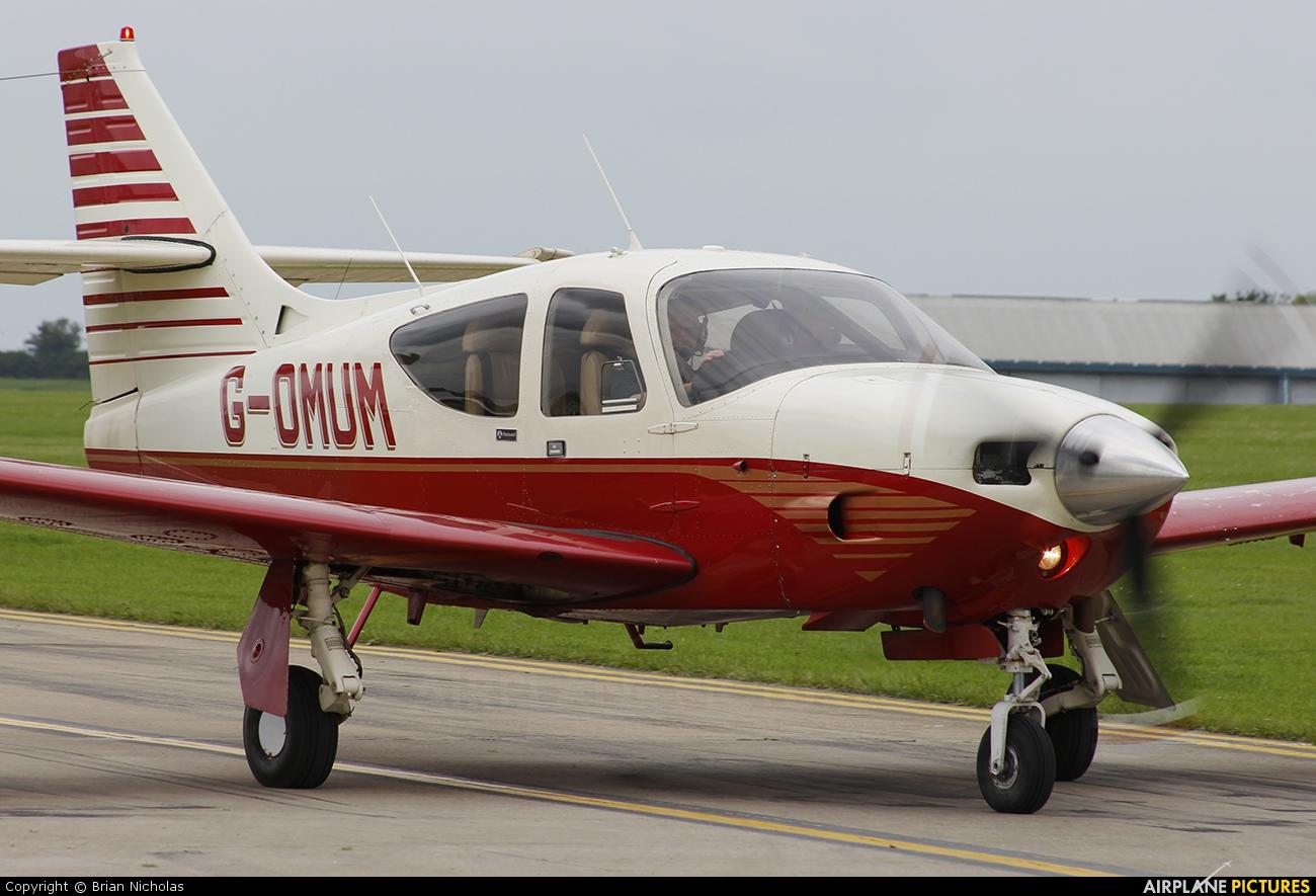 Private G-OMUM aircraft at Northampton / Sywell