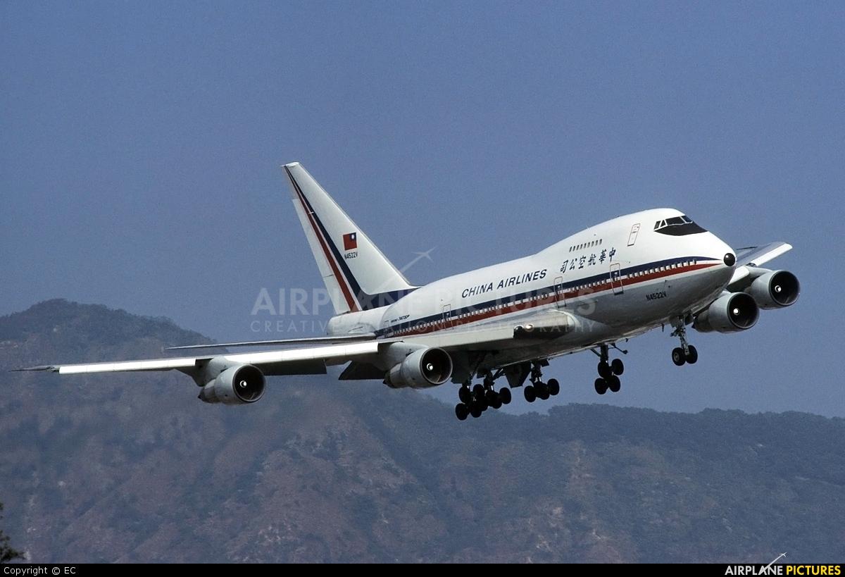 China Airlines N4522V aircraft at HKG - Kai Tak Intl CLOSED