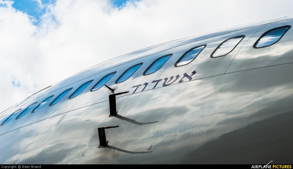 El Al Israel Airlines 4X-ELH aircraft at Tel Aviv - Ben Gurion