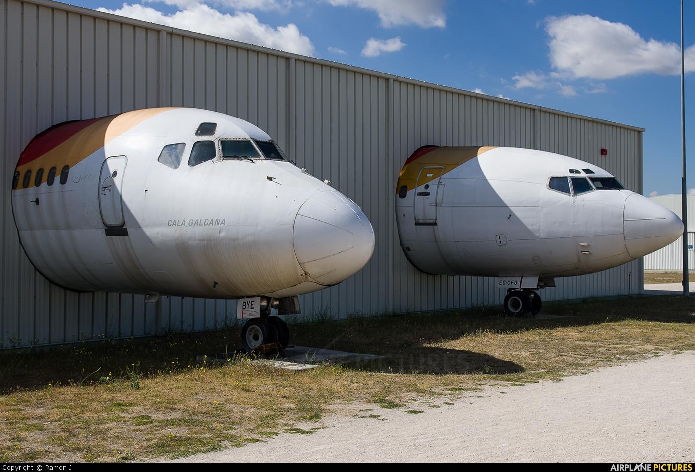 Iberia EC-BYE aircraft at Madrid - Cuatro Vientos