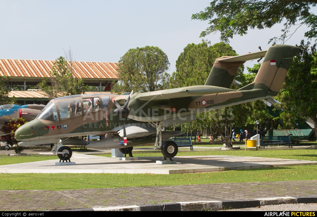 Indonesia - Air Force TT1015 aircraft at Off Airport - Indonesia