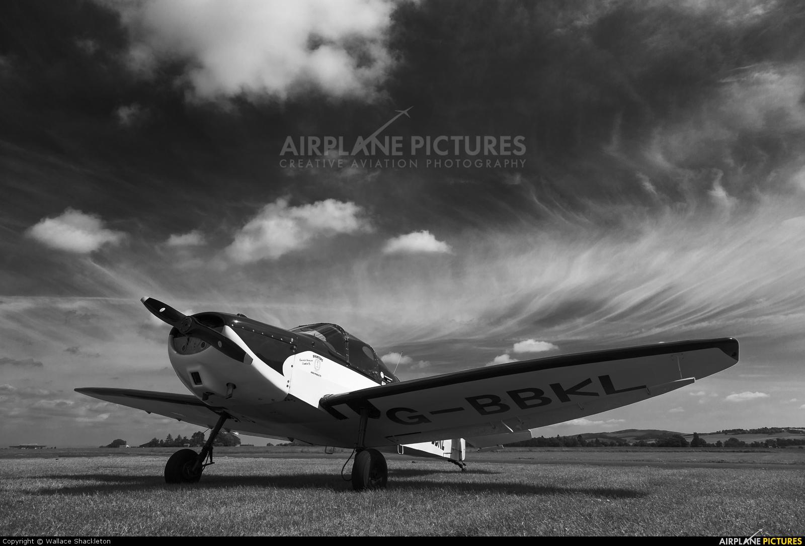 Private G-BBKL aircraft at Perth - Scone