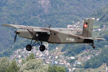 V-618 - Switzerland - Air Force Pilatus PC-6 Porter (all models)