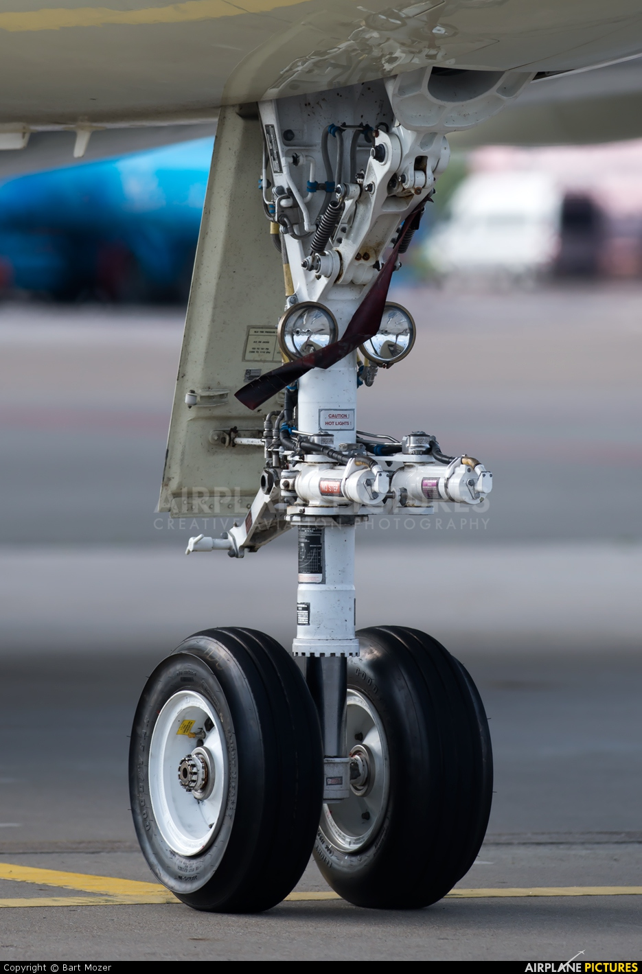 Ion Tiriac Air YR-TIK aircraft at Amsterdam - Schiphol