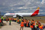 EC-IXD - Iberia Airbus A321 aircraft