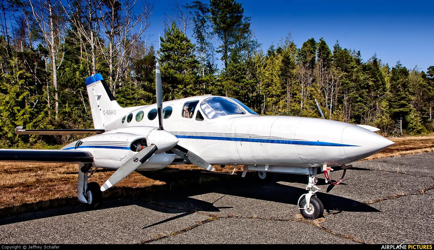 Private C-GGHO aircraft at Tofino - Long Beach, BC