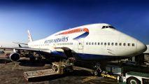 G-CIVJ - British Airways Boeing 747-400 aircraft