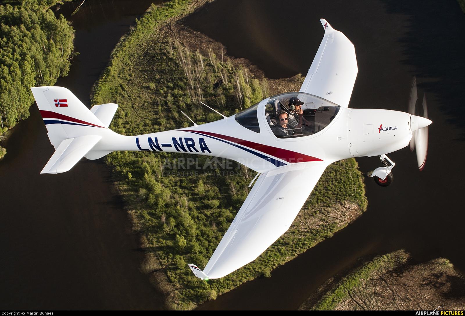 Private LN-NRA aircraft at Kjeller
