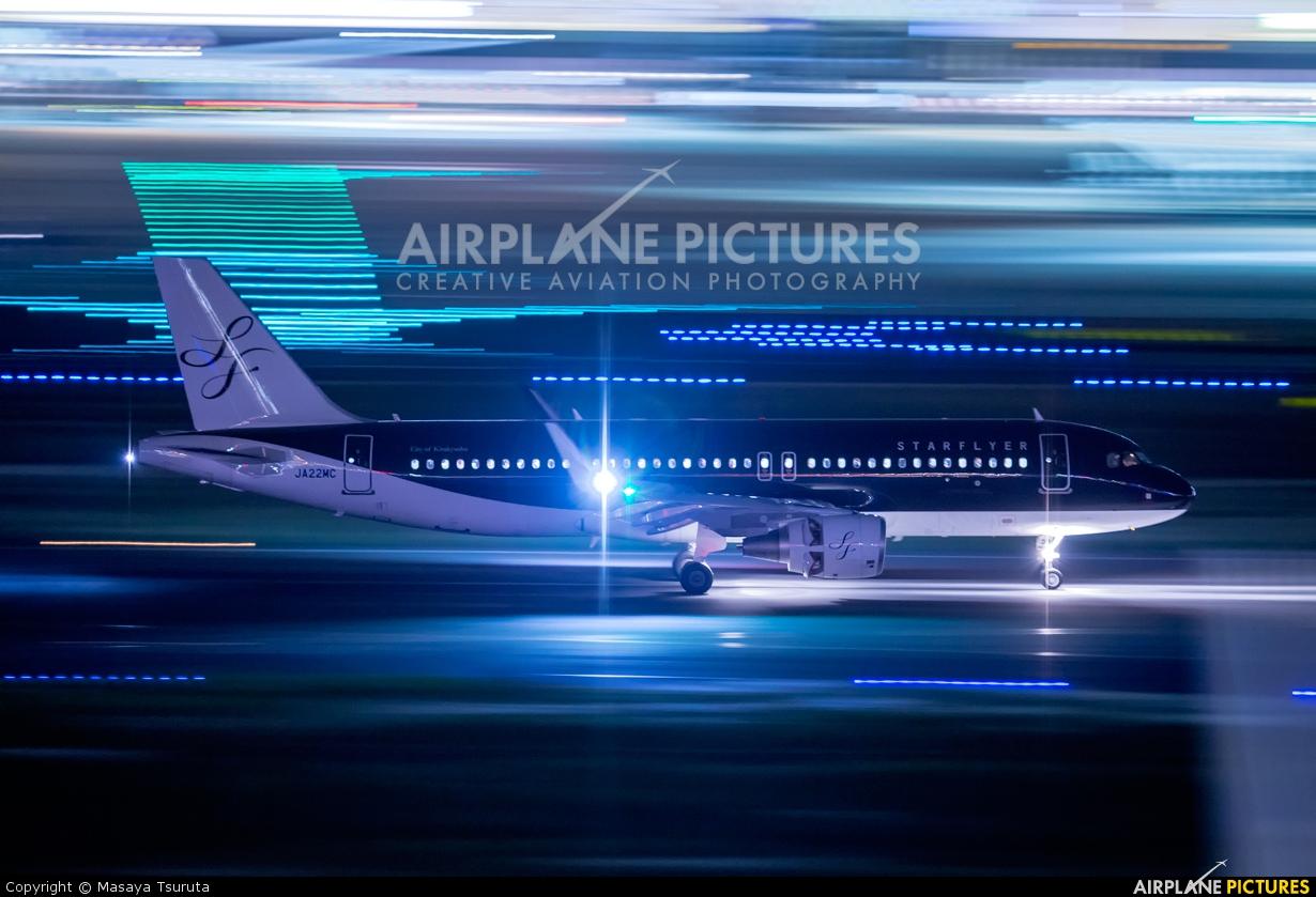 Starflyer JA22MC aircraft at Tokyo - Haneda Intl