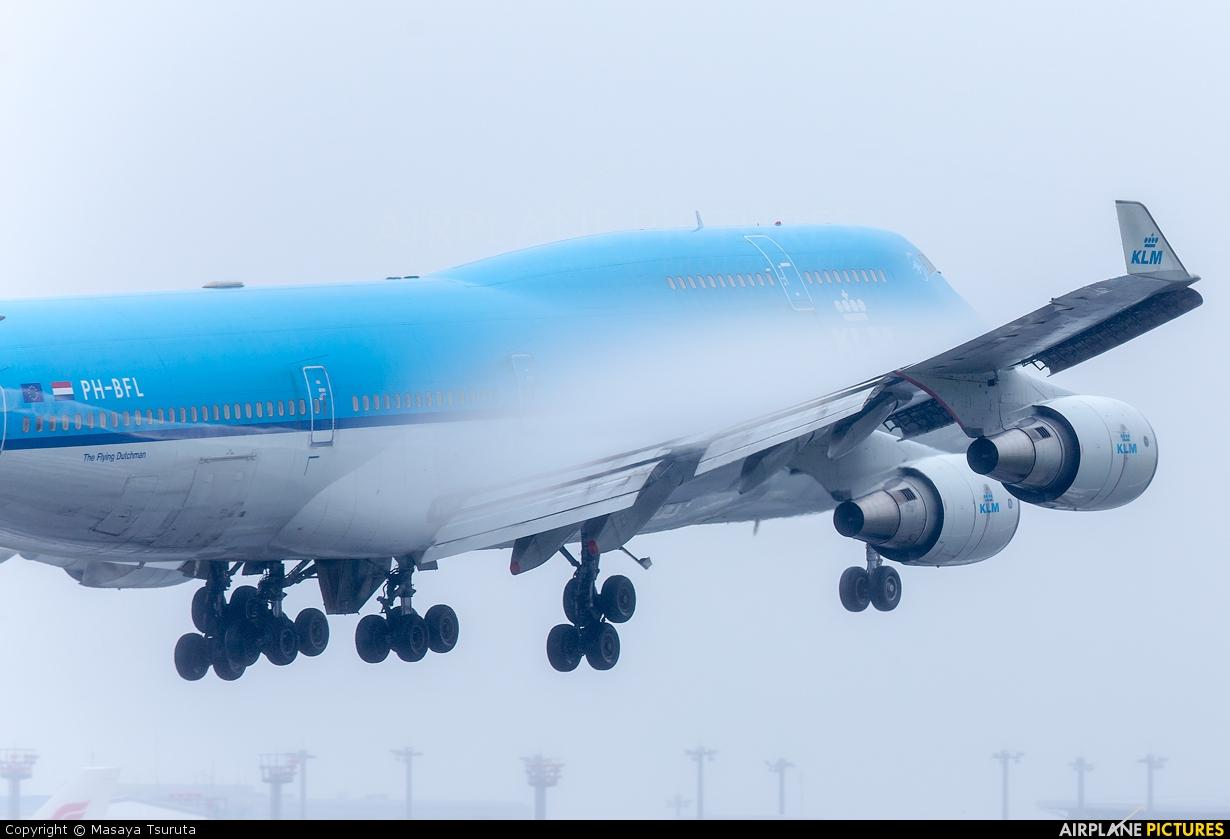 KLM PH-BFL aircraft at Tokyo - Narita Intl