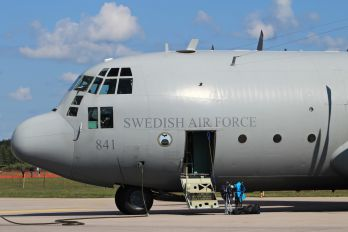84001 - Sweden - Air Force Lockheed Tp84 Hercules