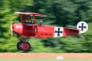 F-AYDR - Private Fokker DR.1 Triplane (replica) aircraft