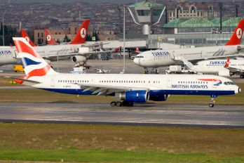 G-BPED - British Airways Boeing 757-200