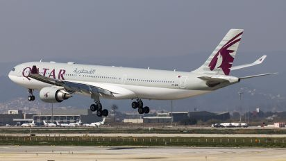 A7-AEB - Qatar Airways Airbus A330-300