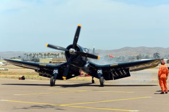 NX240CF - Private Vought F4U Corsair