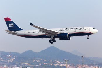 N286AY - US Airways Airbus A330-200