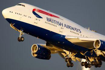G-CIVJ - British Airways Boeing 747-400