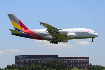 HL7625 - Asiana Airlines Airbus A380