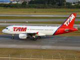 PR-MYL - TAM Airbus A319 aircraft