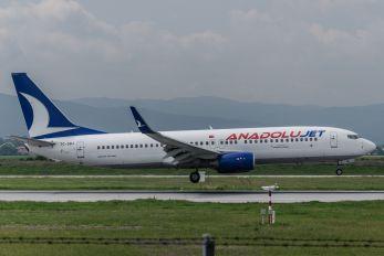 TC-SBJ - AnadoluJet Boeing 737-800
