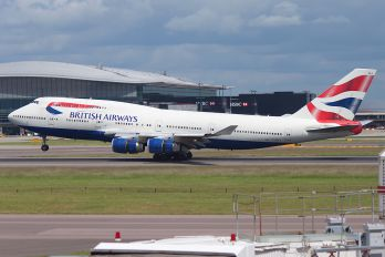 G-BNLJ - British Airways Boeing 747-400