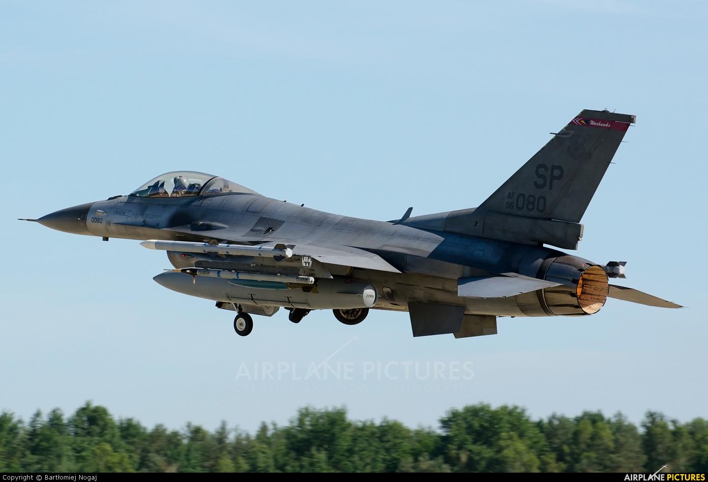 USA - Air Force 91-0080 aircraft at Łask AB