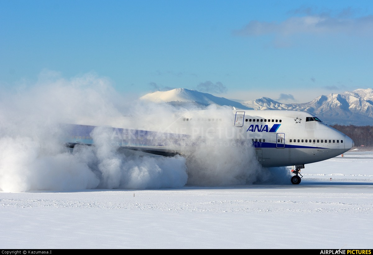 ANA - All Nippon Airways JA8960 aircraft at New Chitose