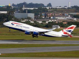 G-BNLS - British Airways Boeing 747-400