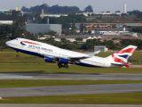 G-BNLS - British Airways Boeing 747-400 aircraft
