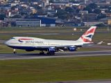 G-BNLS - British Airways Boeing 747-400 aircraft
