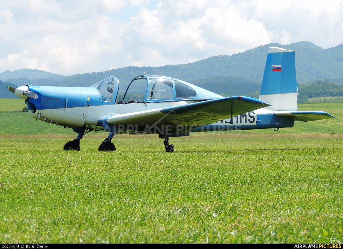 Slovensky Narodny Aeroklub OM-MMS aircraft at Martin-Tomčany