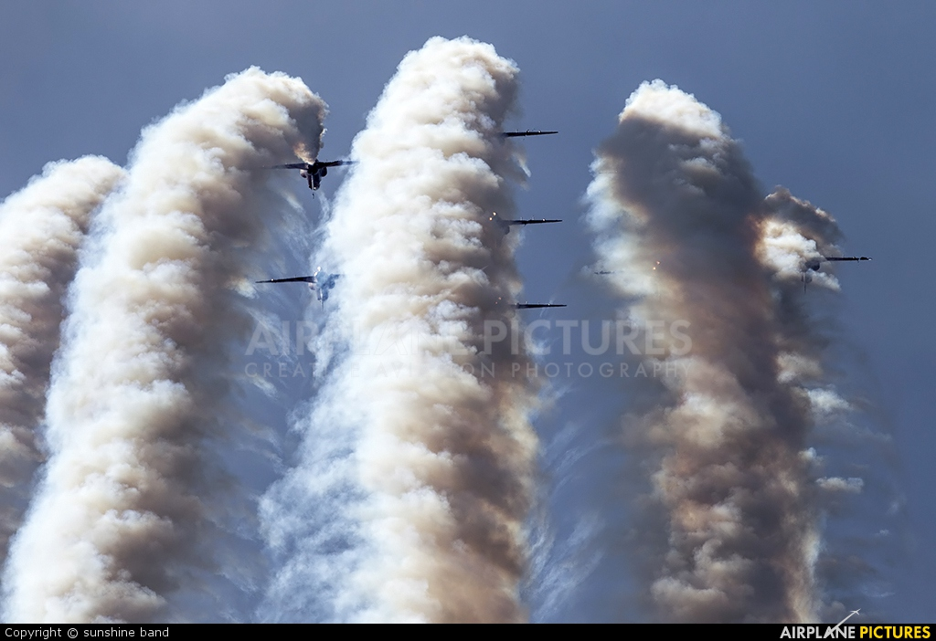 "Royal Air Force ""Red Arrows"" XX323 aircraft at Scampton"