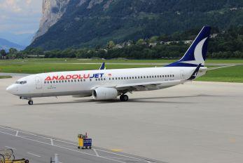 TC-SNG - AnadoluJet Boeing 737-800