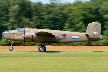 "PH-XXV - Netherlands - Air Force ""Historic Flight"" North American B-25N Mitchell"