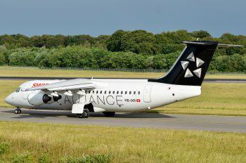 HB-IXR - Swiss British Aerospace BAe 146-300/Avro RJ100