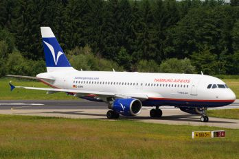 D-AHHH - Hamburg Airways Airbus A320