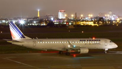F-HBLF - Air France - Regional Embraer ERJ-190 (190-100)